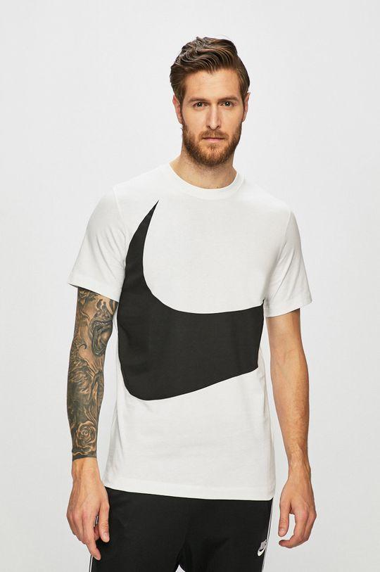bílá Nike - Tričko Pánský