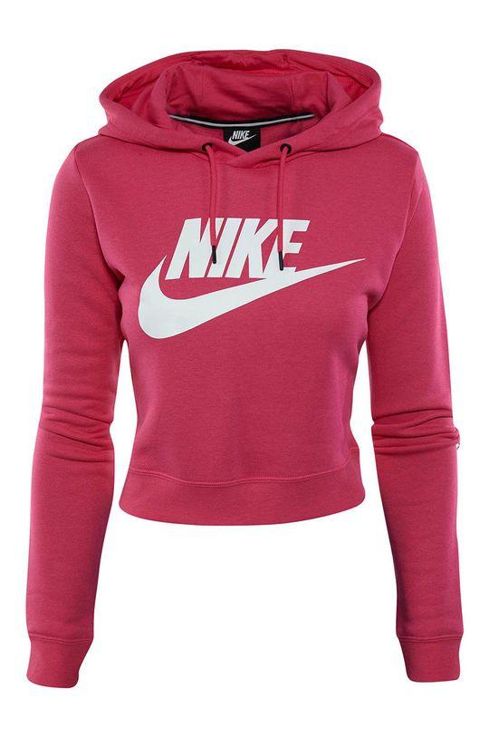 růžová Nike - Mikina Dámský