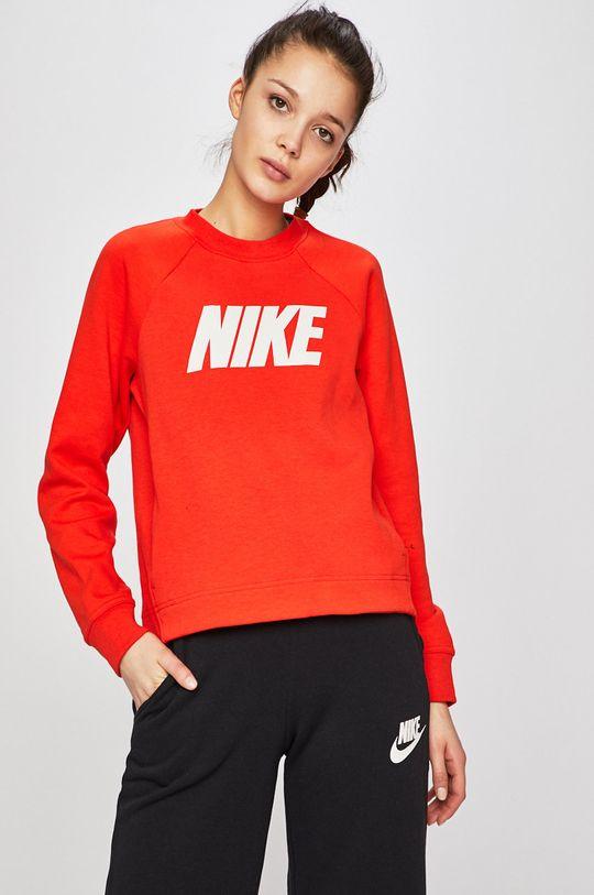 červená Nike - Mikina Dámský