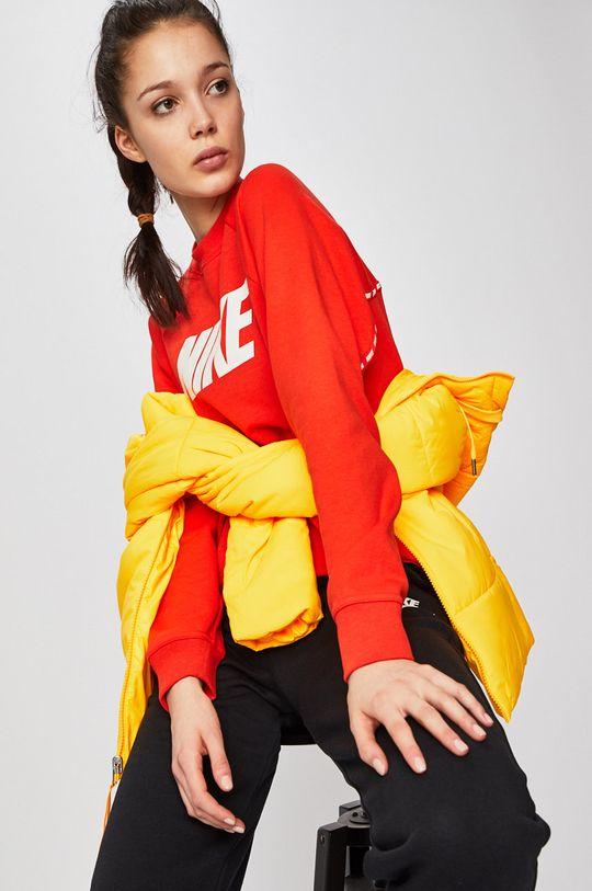 červená Nike - Mikina
