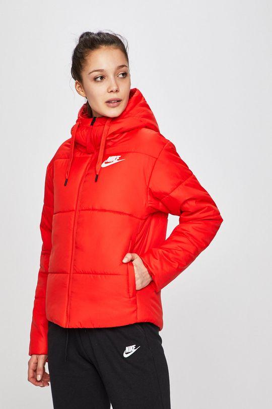 červená Nike - Bunda Dámský