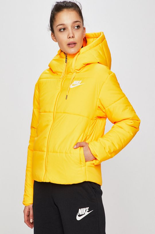 žlutá Nike - Bunda Dámský
