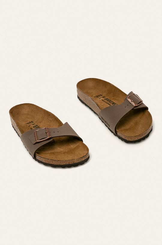 Birkenstock - Klapki brązowy
