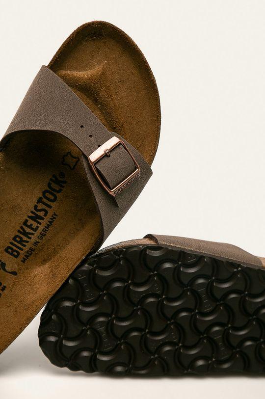 brązowy Birkenstock - Klapki