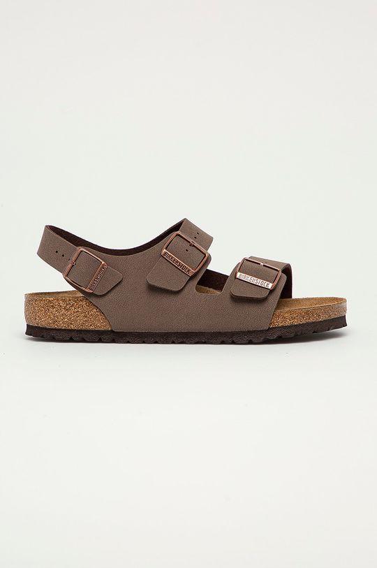 kávová Birkenstock - Sandále Milano Pánsky