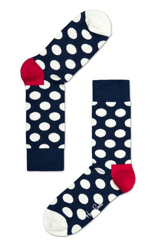 granatowy Happy Socks - Skarpetki Big Dot M Męski