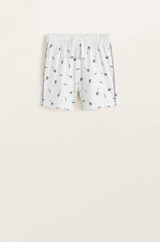 Mango Kids - Pijama copii Noise 110-164 cm Material 1: 100% Bumbac Material 2: 57% Bumbac, 43% Poliester