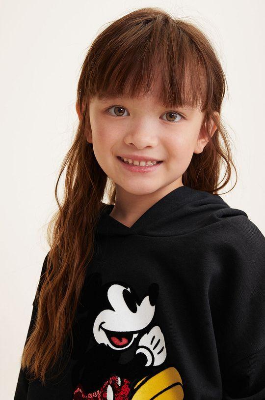 negru Mango Kids - Bluza copii Mblack 110-164 cm De fete