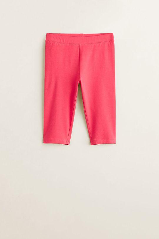 roz Mango Kids - Leggins copii Ella 104-164 cm De fete