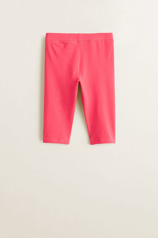 Mango Kids - Leggins copii Ella 104-164 cm roz