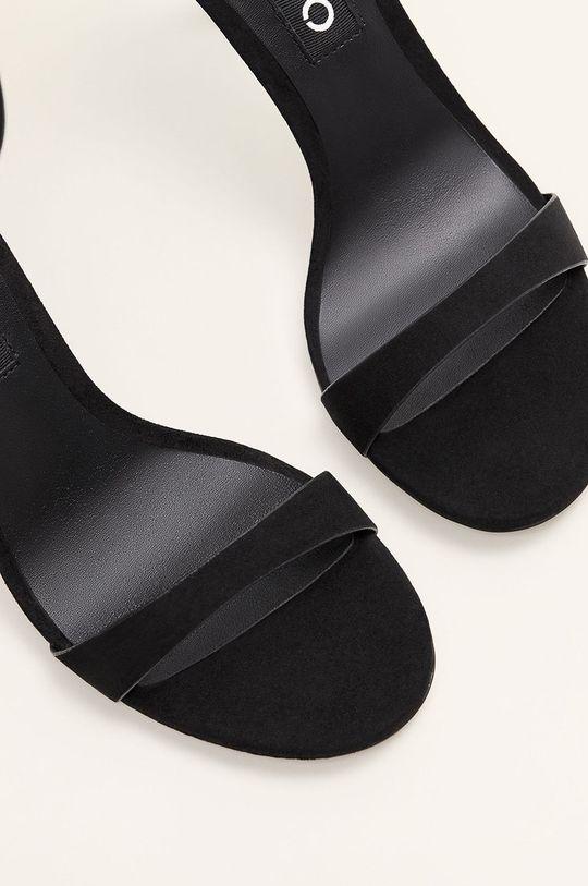 negru Mango - Sandale Salva