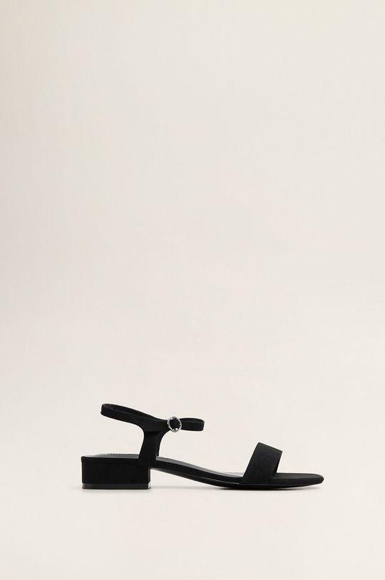 negru Mango - Sandale Leto De femei