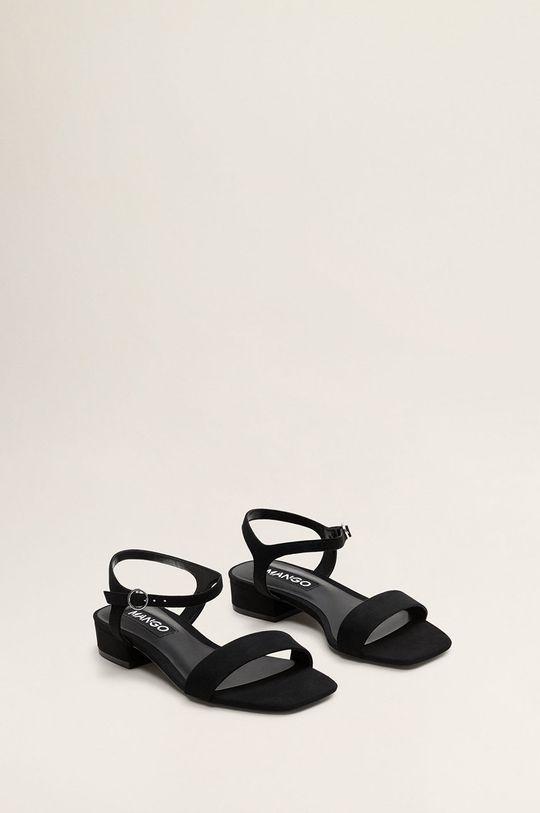 Mango - Sandale Leto negru