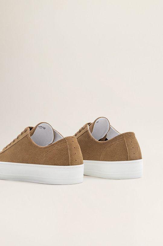 Mango Man - Pantofi Serra Gamba: Piele intoarsa Interiorul: Material sintetic, Material textil Talpa: Material sintetic