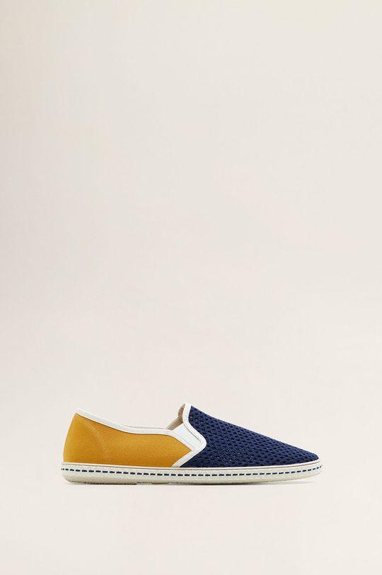 albastru Mango Man - Pantof Miami De bărbați