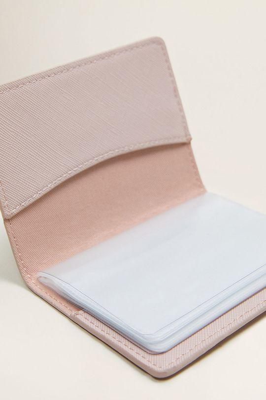 Mango – Card holder Lole roz pastelat