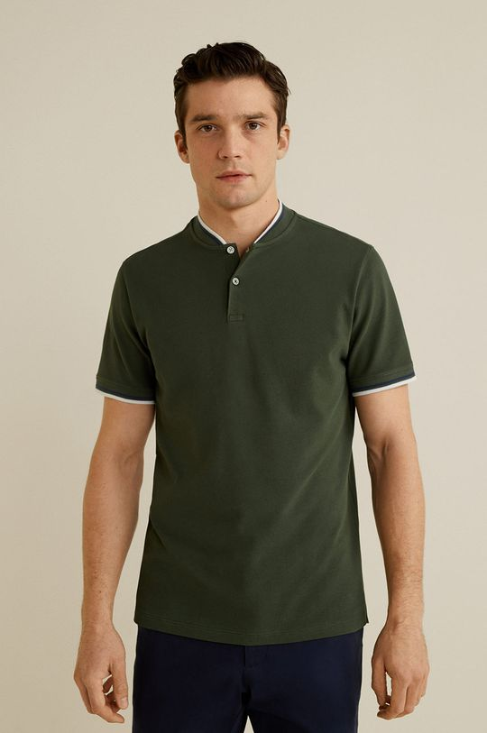 verde Mango Man - Tricou Polo Clover De bărbați