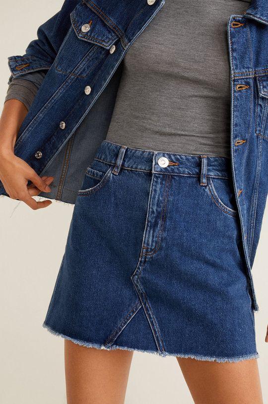 mare Mango - Fusta jeans Musthave De femei