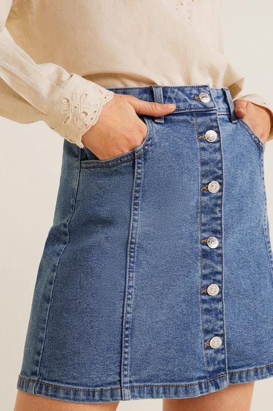 albastru Mango - Fusta jeans Vicky De femei