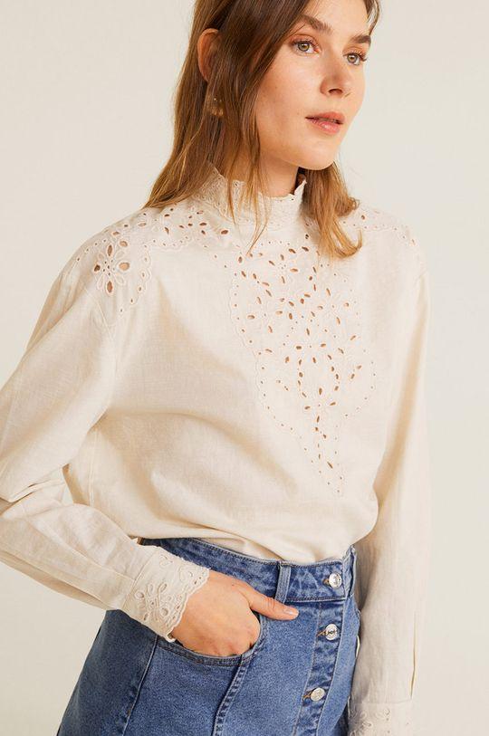 Mango - Fusta jeans Vicky De femei