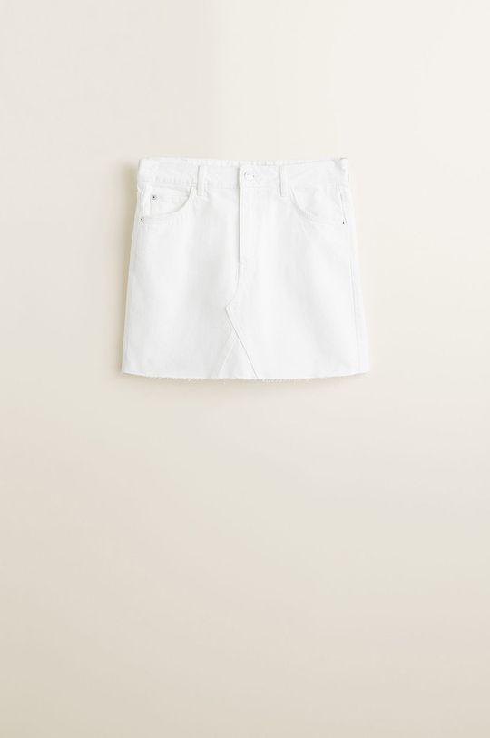 Mango - Fusta jeans Musthave De femei