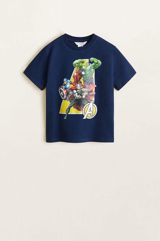 bleumarin Mango Kids - Tricou copii Aveng 110-152 cm De băieți