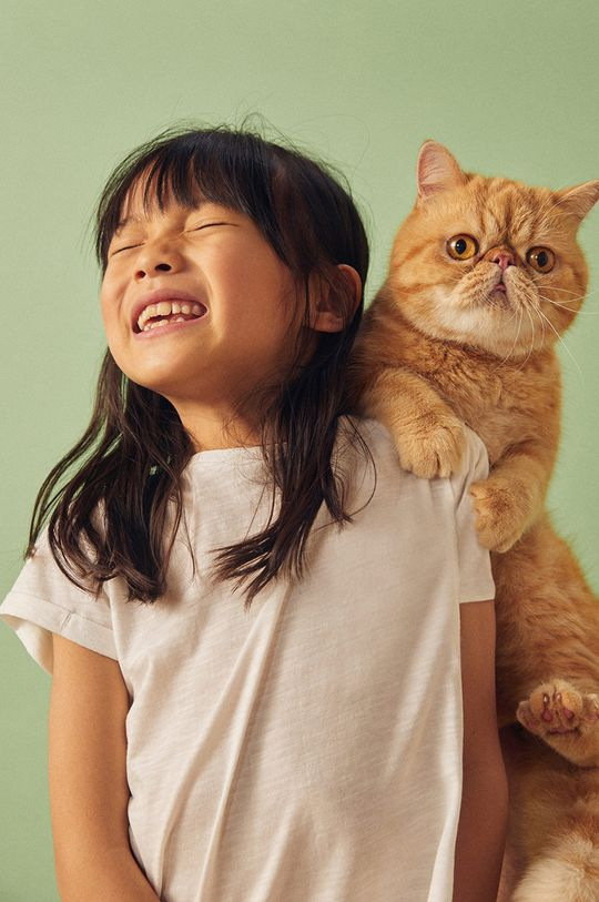 alb Mango Kids - Top copii Baseg4 104-164 cm