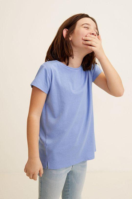 albastru pal Mango Kids - Top copii Baseg4 104-164 cm De fete