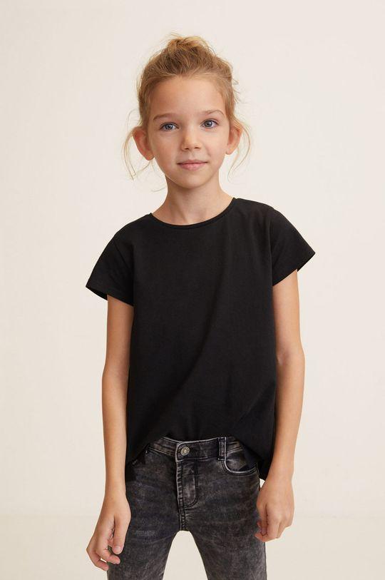 negru Mango Kids - Top copii Baseg4 104-164 cm De fete