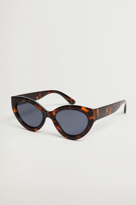 brązowy Mango - Okulary BOSCO Damski