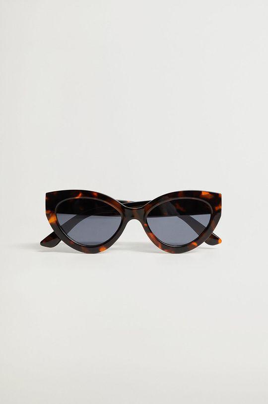Mango - Okulary BOSCO brązowy