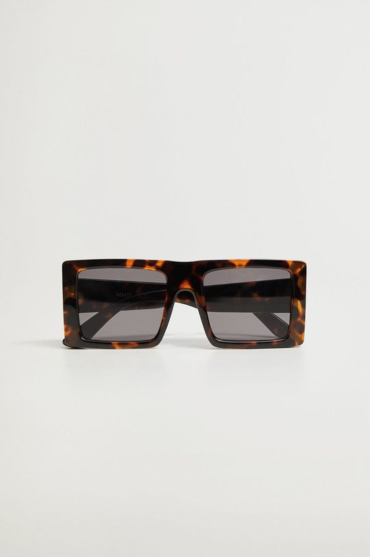 Mango - Okulary CLAUDIO brązowy