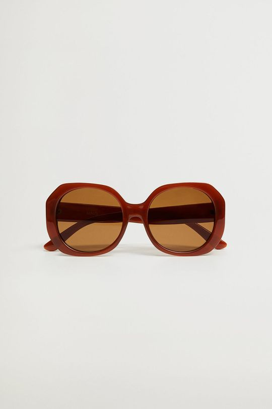 Mango - Okulary CARINA pomarańczowy