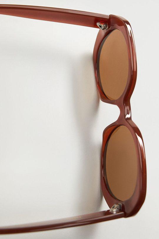 Mango - Okulary CARINA Materiał 1: 2 % Miedź, 98 % Poliwęglan, Materiał 2: 100 % Poliwęglan