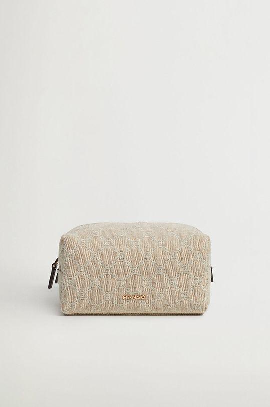 bílá Mango - Kosmetická taška LINK Dámský