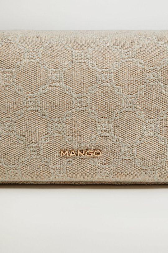 Mango - Kosmetická taška LINK  Podšívka: 100% Polyester Hlavní materiál: 14% Bavlna, 46% Juta, 29% Polyester, 11% Viskóza