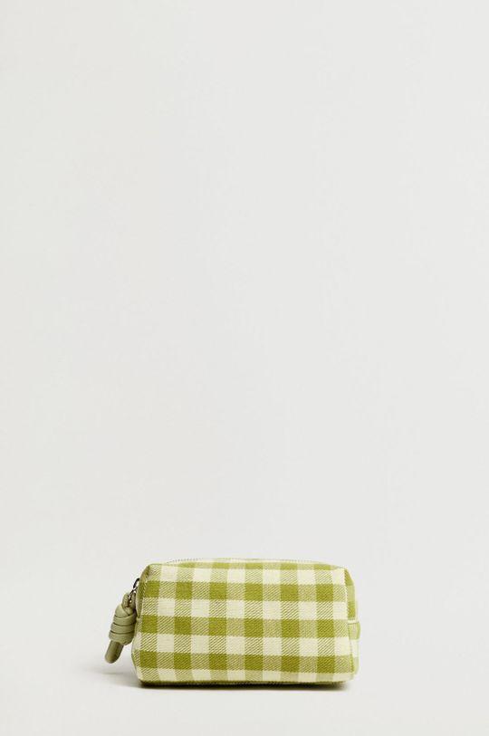 zielony Mango - Kosmetyczka FUN Damski