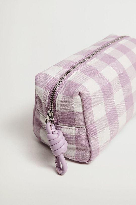 Mango - Kosmetická taška TAIWAN purpurová