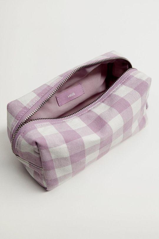 Mango - Kosmetická taška TAIWAN  Podšívka: 100% Polyester Hlavní materiál: 100% Bavlna