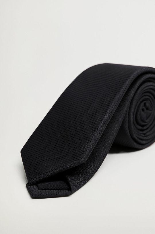 černá Mango Man - Kravata BASIC5