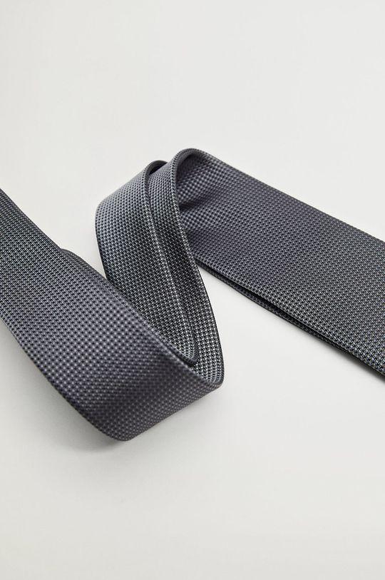 Mango Man - Cravata MILAN gri deschis