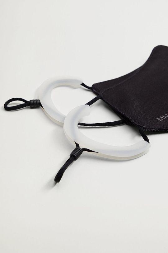 Mango Man - Silikonowe ochraniacze na uszy od maseczki SILICONE biały