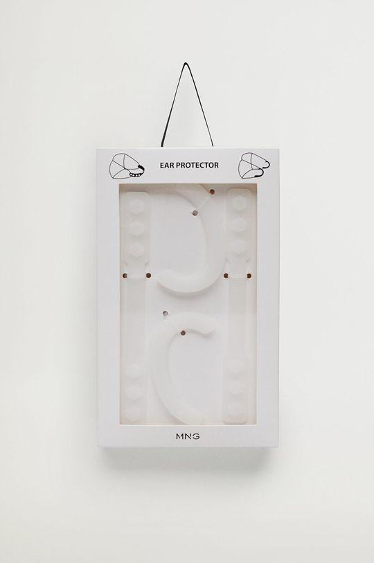 biały Mango Man - Silikonowe ochraniacze na uszy od maseczki SILICONE