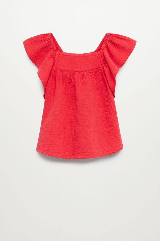 czerwony Mango Kids - Bluzka dziecięca ALCALA Dziewczęcy