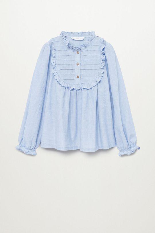 niebieski Mango Kids - Bluzka dziecięca LAIET Dziewczęcy