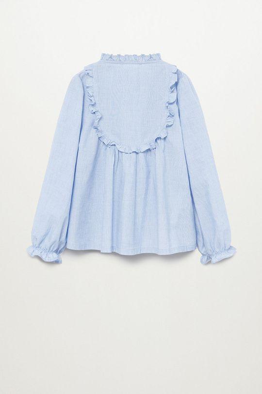 Mango Kids - Bluzka dziecięca LAIET niebieski