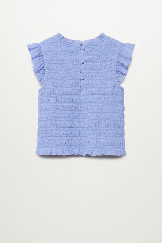 Mango Kids - Bluzka dziecięca Demit 140-164 cm fioletowy