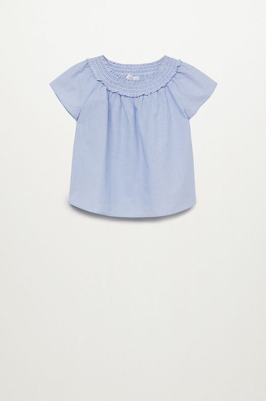 niebieski Mango Kids - Bluzka dziecięca DANNA Dziewczęcy