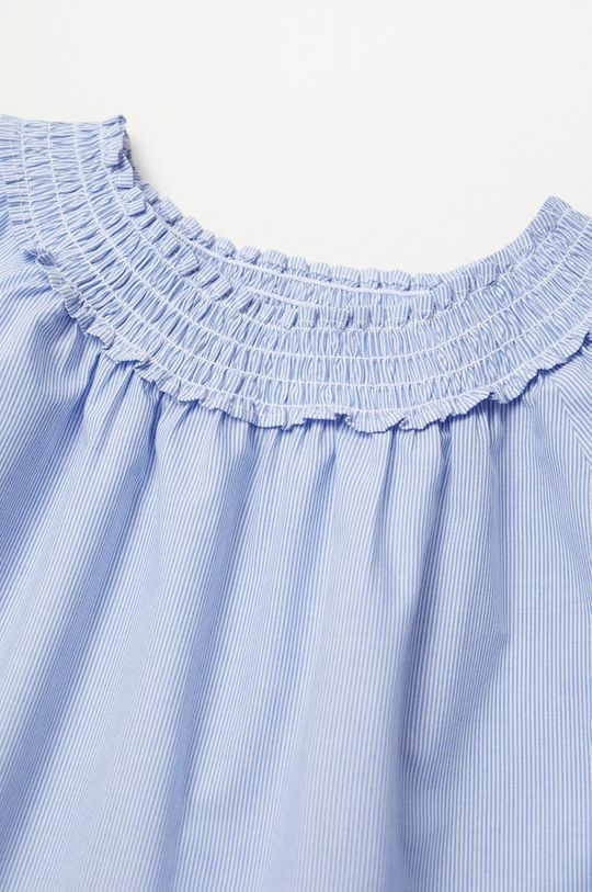 Mango Kids - Bluzka dziecięca DANNA niebieski