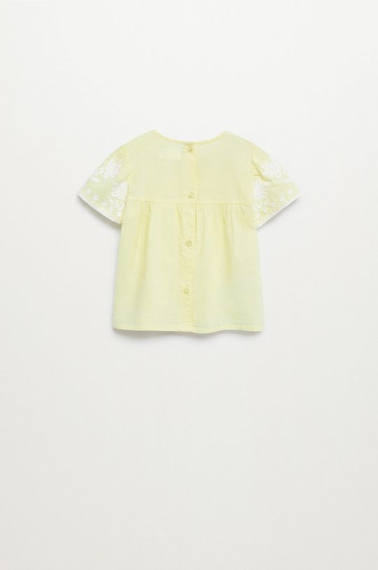 Mango Kids - Bluzka bawełniana dziecięca Santas 80-110 cm